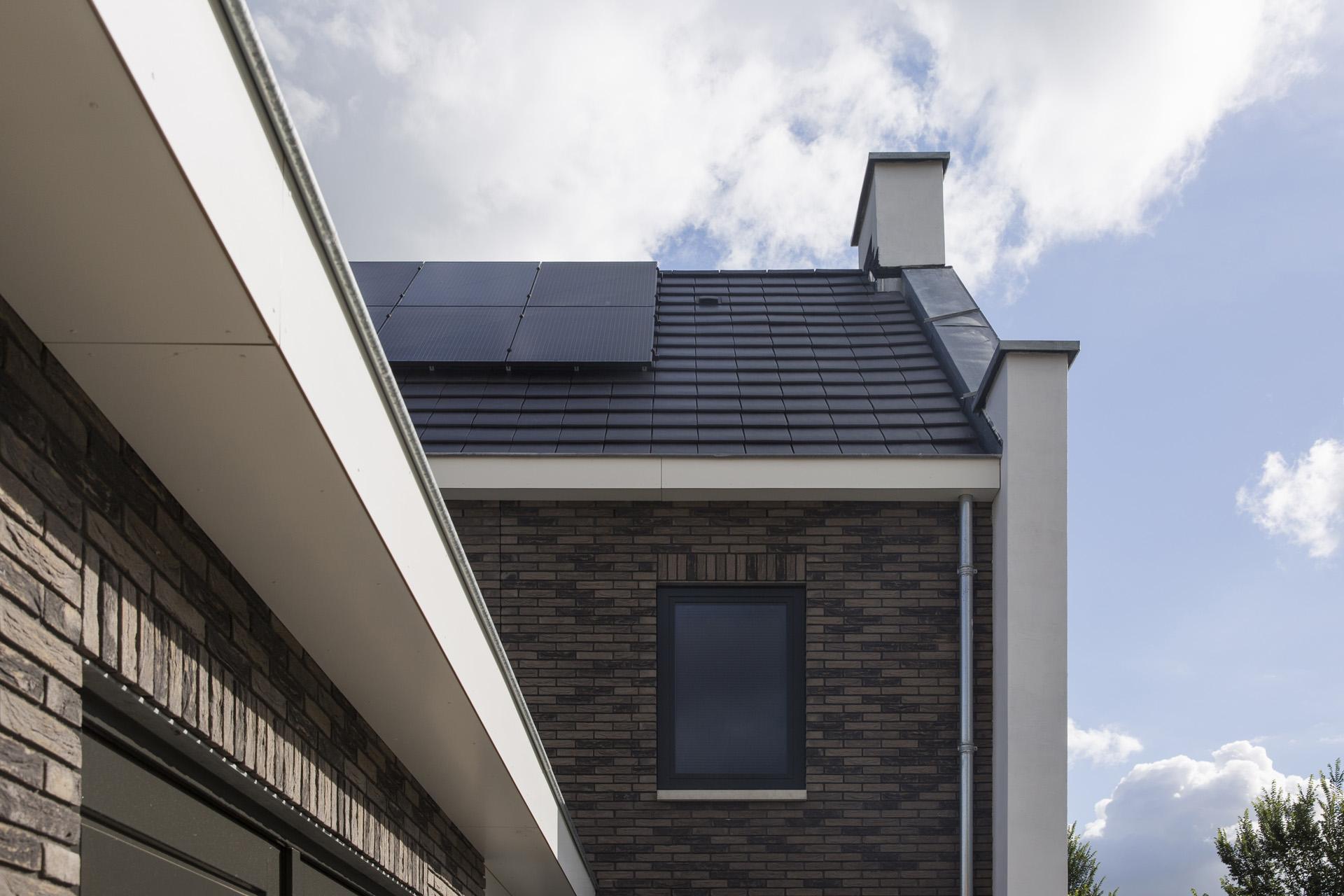 Zijgevel en dak Woning Hanze Hattem Van Elp